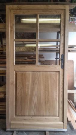 Porte d'entrée à petits bois